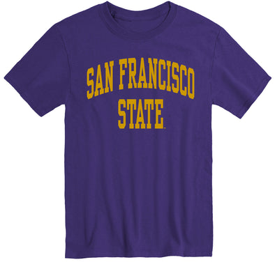 San Francisco State University Classic T-Shirt (Purple)