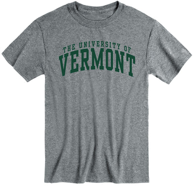 University of Vermont Classic T-Shirt (Charcoal Grey)