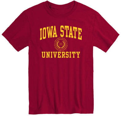 Iowa State University Heritage T-Shirt (Cardinal)