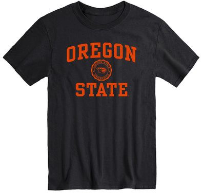 Oregon State University Heritage T-Shirt (Black)