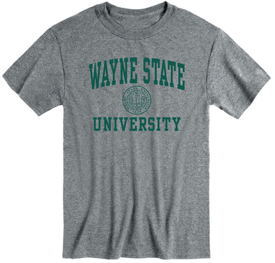 Wayne State University Heritage T-Shirt (Charcoal Grey)