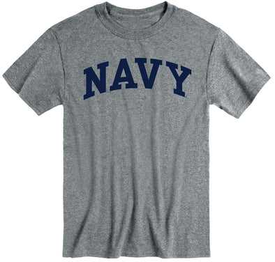 Navy Classic T-Shirt (Charcoal Grey)