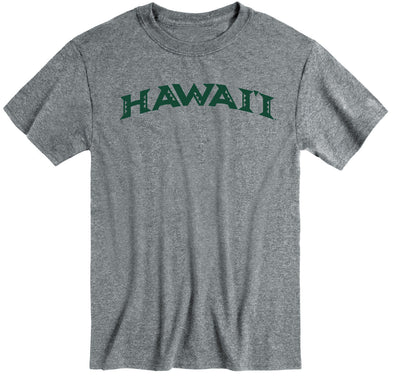 University of Hawaii Classic T-Shirt (Charcoal Grey)