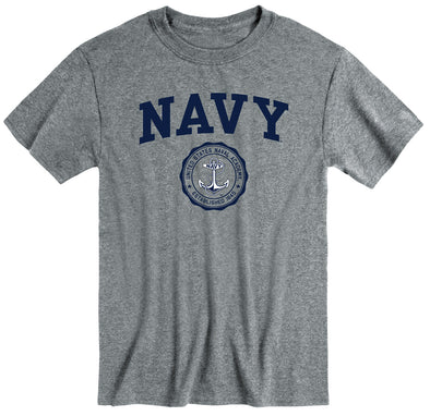 Navy Heritage T-Shirt (Charcoal Grey)
