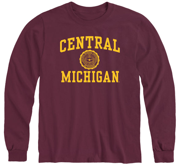 Central Michigan University Heritage Long Sleeve T-Shirt