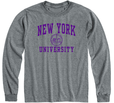 New York University Heritage Long Sleeve T-Shirt