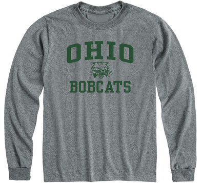 Ohio University Heritage Long Sleeve T-Shirt (Charcoal Grey)
