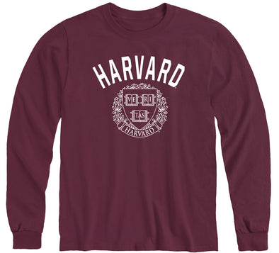 Harvard Long Sleeve T-Shirt Heritage (Crimson)