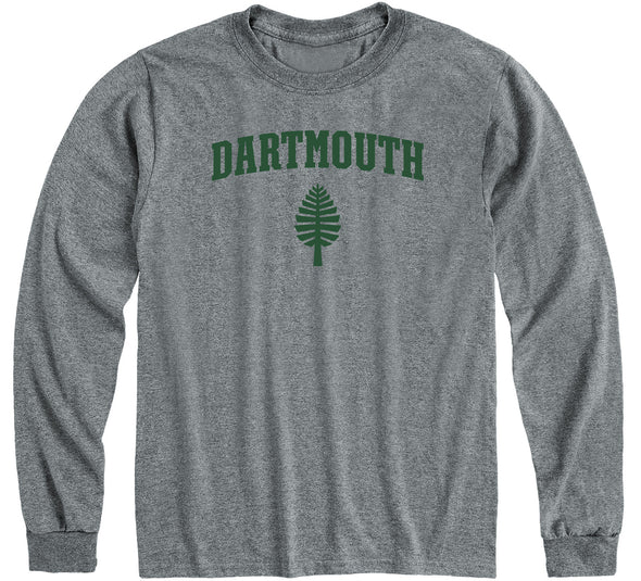 Dartmouth Heritage Long Sleeve T-Shirt (Charcoal Grey)
