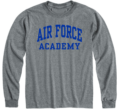 Air Force Classic Long Sleeve T-Shirt (Charcoal Grey)