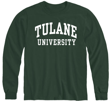 Tulane University Classic Long Sleeve T-Shirt