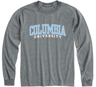 Columbia Classic Long Sleeve T-Shirt (Charcoal Grey)