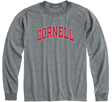 Cornell Classic Long Sleeve T-Shirt (Charcoal Grey)