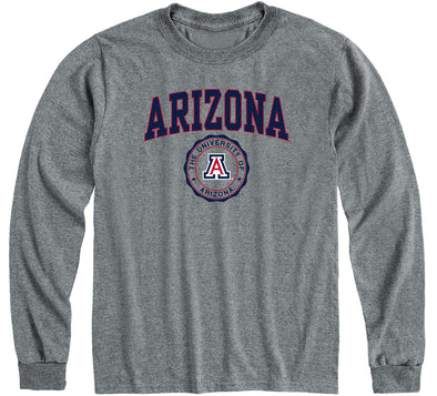 University of Arizona Heritage Long Sleeve T-Shirt (Charcoal Grey)