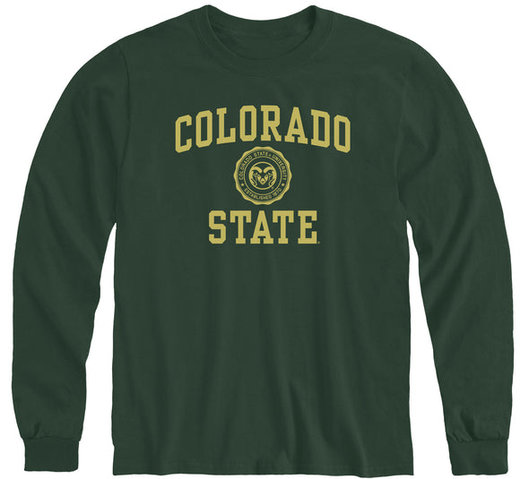Colorado State University Heritage Long Sleeve T-Shirt (Hunter Green)