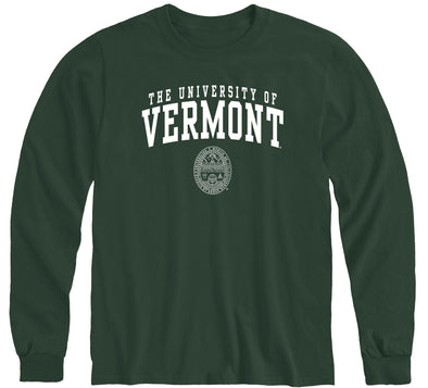University of Vermont Heritage Long Sleeve T-Shirt (Hunter Green)