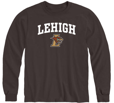 Lehigh University Heritage Long Sleeve T-Shirt (Brown)