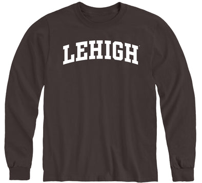 Lehigh University Classic Long Sleeve T-Shirt (Brown)