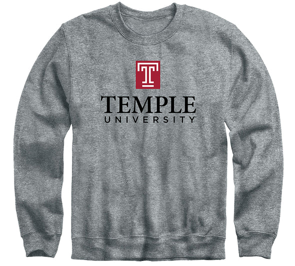 Temple University Heritage Sweatshirt (Charcoal Grey)