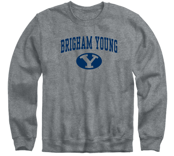 Brigham Young University Heritage Sweatshirt (Charcoal Grey)