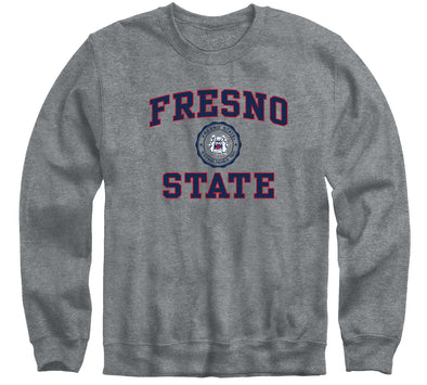 California State University Fresno Heritage Sweatshirt (Charcoal Grey)