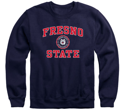 California State University Fresno Heritage Sweatshirt (Navy)