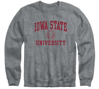 Iowa State University Heritage Sweatshirt (Charcoal Grey)