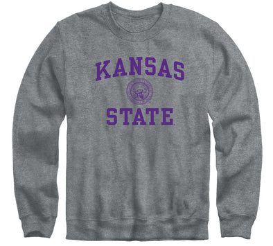 Kansas State University Heritage Sweatshirt (Charcoal Grey)