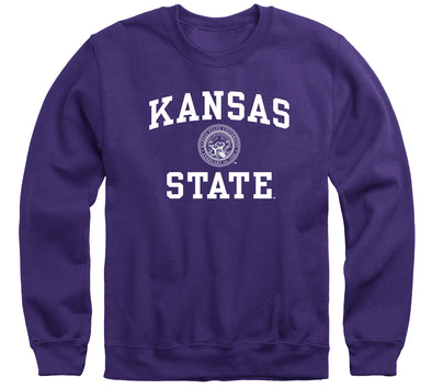 Kansas State University Heritage Sweatshirt (Purple)
