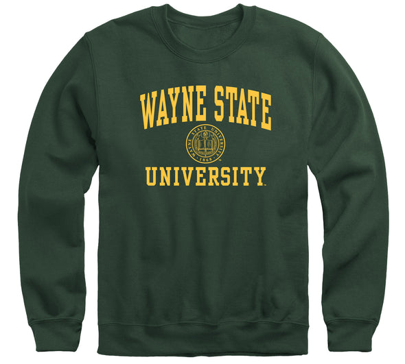 Wayne State University Heritage Sweatshirt (Hunter Green)