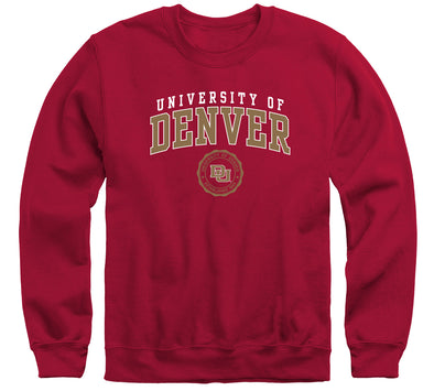 University of Denver Heritage Sweatshirt (Cardinal)