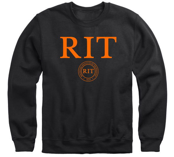 Rochester Institute of Technology Heritage Sweatshirt (Black)
