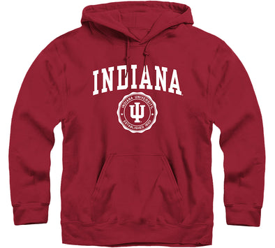 Indiana University Heritage Hooded Sweatshirt (Cardinal)