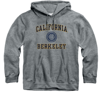 UC Berkeley Heritage Hooded Sweatshirt (Charcoal Grey)
