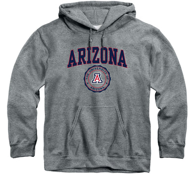University of Arizona Heritage Hooded Sweatshirt (Charcoal Grey)