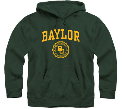 Baylor University Heritage Hooded Sweatshirt (Hunter Green)