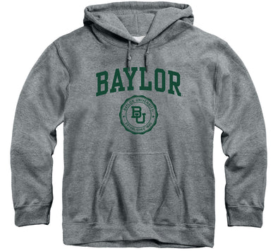 Baylor University Heritage Hooded Sweatshirt (Charcoal Grey)