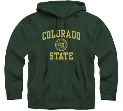 Colorado State University Heritage Hooded Sweatshirt (Hunter Green)