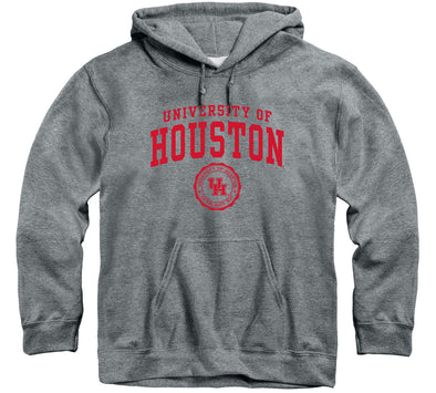 University of Houston Heritage Hooded Sweatshirt (Charcoal Grey)