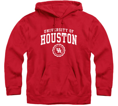 University of Houston Heritage Hooded Sweatshirt (Red)