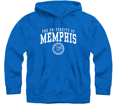 The University of Memphis Heritage Hooded Sweatshirt (Royal Blue)