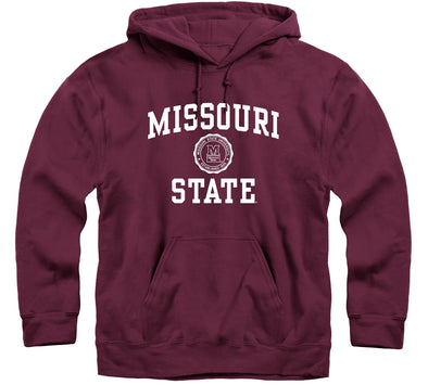 Missouri State University Heritage Hooded Sweatshirt (Maroon)