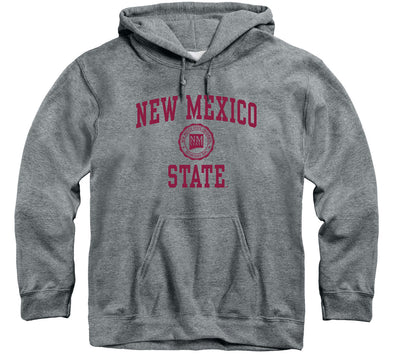New Mexico State University Heritage Hooded Sweatshirt (Charcoal Grey)