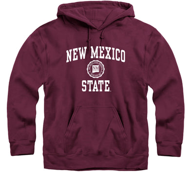 New Mexico State University Heritage Hooded Sweatshirt (Maroon)
