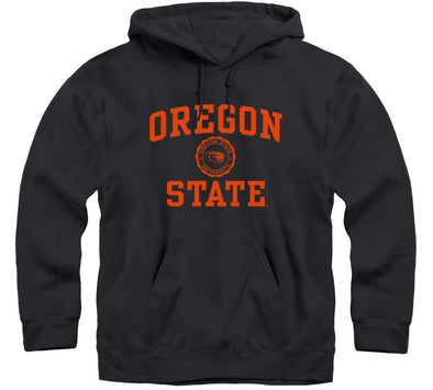 Oregon State University Heritage Hooded Sweatshirt (Black)