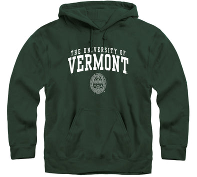 University of Vermont Heritage Hooded Sweatshirt (Hunter Green)