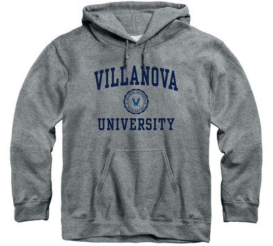 Villanova University Heritage Hooded Sweatshirt (Charcoal Grey)