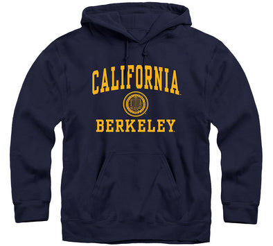 UC Berkeley Heritage Hooded Sweatshirt (Navy)