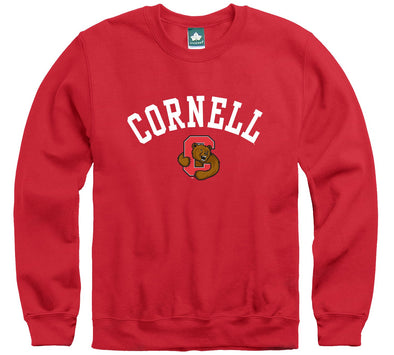 Cornell Athletics Logo Sweatshirt (Red)