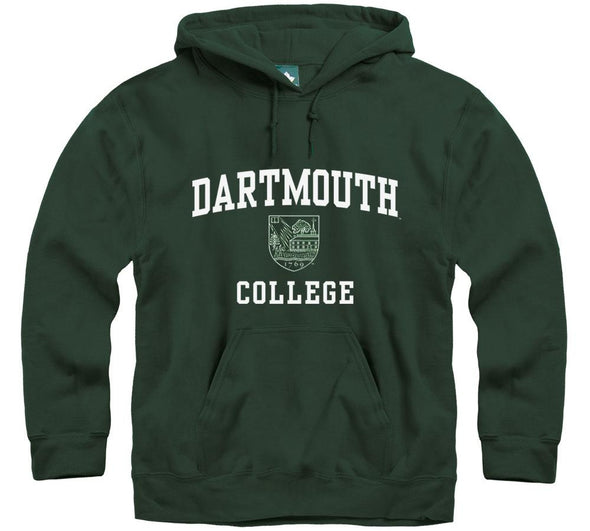 Dartmouth Crest Hooded Sweatshirt (Hunter)